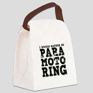 'Paramotoring' Canvas Lunch Bag