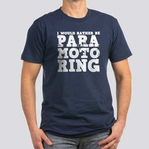'Paramotoring' Men's Fitted T-Shirt (dark)