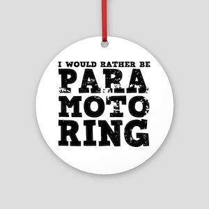 'Paramotoring' Ornament (Round)