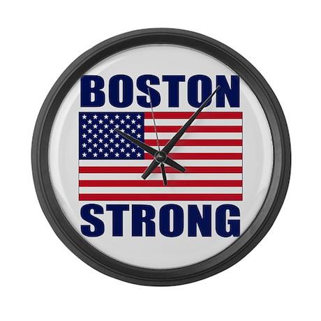Boston Strong Large Wall Clock