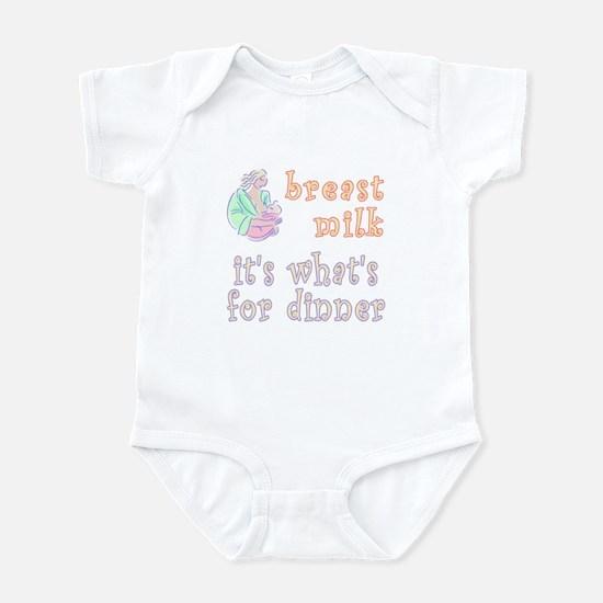 breast milk...dinner - Infant Bodysuit