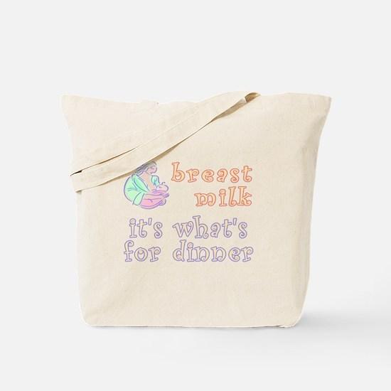 breast milk...dinner - Tote Bag