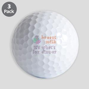 breast milk...dinner - Golf Balls