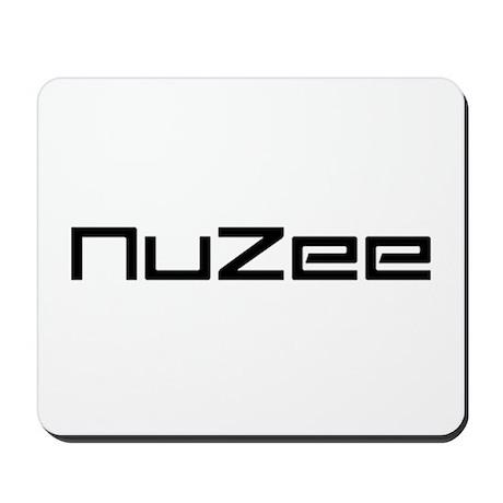nuzee logo Mousepad