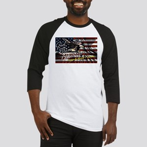 Patriotic T-shirt Baseball Jersey