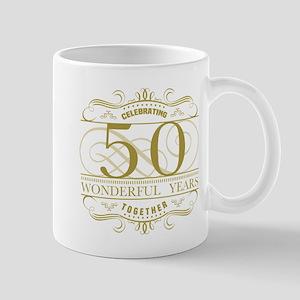 Celebrating 50th Anniversary Mugs
