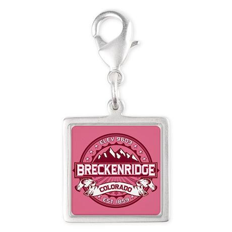 Breckenridge Honeysuckle Silver Square Charm