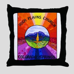 HPCUU Mountains Quilt Throw Pillow