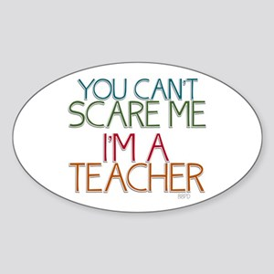 Teacher Dont Scare Sticker