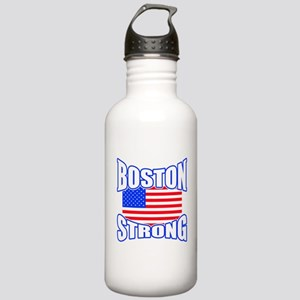 Boston Strong patriotism Stainless Water Bottle 1.