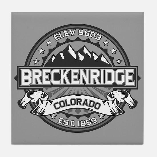 Breckenridge Grey Tile Coaster