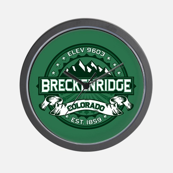 Breckenridge Forest Wall Clock