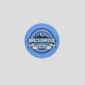 Breckenridge Blue Mini Button