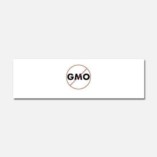 No GMO Car Magnet 10 x 3