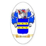Burdett Sticker (Oval 50 pk)