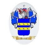 Burdett Ornament (Oval)