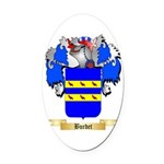 Burdet Oval Car Magnet