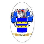 Burdet Sticker (Oval 50 pk)