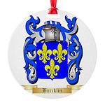 Burcklin Round Ornament