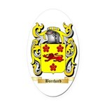 Burchard Oval Car Magnet