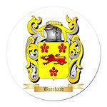 Burchard Round Car Magnet