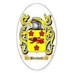Burchard Sticker (Oval 50 pk)