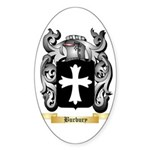 Burbury Sticker (Oval 10 pk)