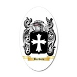 Burbury 20x12 Oval Wall Decal