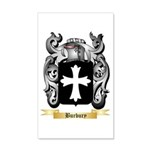 Burbury 20x12 Wall Decal