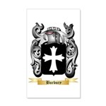 Burbury 35x21 Wall Decal