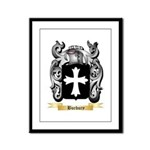 Burbury Framed Panel Print