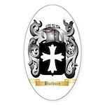 Burbure Sticker (Oval 50 pk)