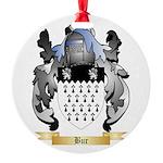 Bur Round Ornament