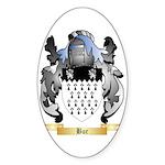 Bur Sticker (Oval 10 pk)