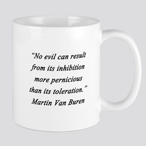 Van Buren - No Evil 11 oz Ceramic Mug