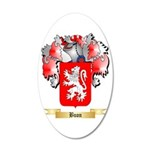 Buon 20x12 Oval Wall Decal