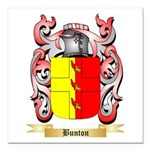 Bunton Square Car Magnet 3