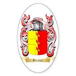 Bunton Sticker (Oval 50 pk)