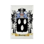 Bunting Rectangle Magnet (100 pack)