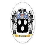 Bunting Sticker (Oval)