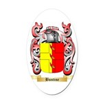 Buntine Oval Car Magnet
