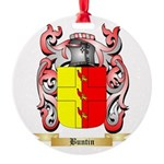 Buntin Round Ornament