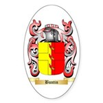 Buntin Sticker (Oval 50 pk)