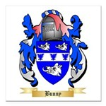Bunny Square Car Magnet 3