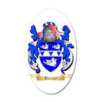 Bunney 35x21 Oval Wall Decal