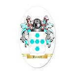 Bunnett Oval Car Magnet