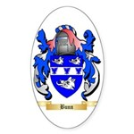 Bunn Sticker (Oval 10 pk)