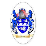 Bunn Sticker (Oval 50 pk)