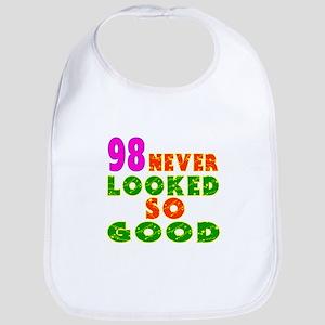 98 Birthday Designs Bib