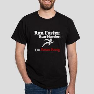 Run Faster Run Harder Dark T-Shirt